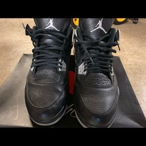 Air Jordan retro 4 Oreo
